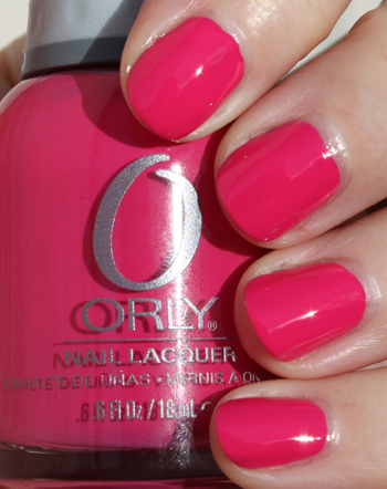 Orly Blushing Bud A Plethora of Red & Pink Nail Polish for Valentines Day