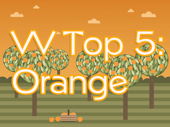 VV Top 5 Orange Image A Look Back: Vampy Varnish Favs Featuring: Orange