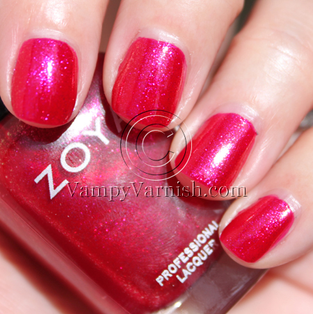 Zoya Alegra A Plethora of Red & Pink Nail Polish for Valentines Day