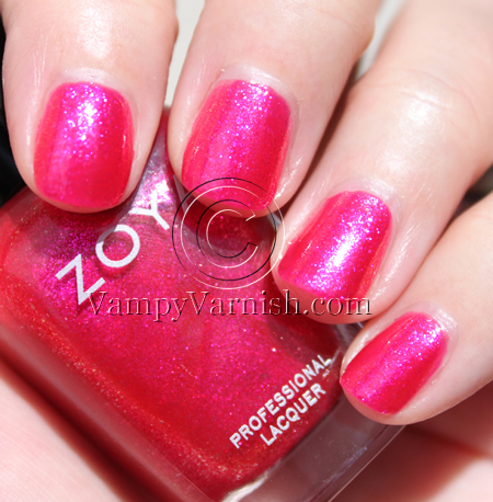 Zoya Gilda A Plethora of Red & Pink Nail Polish for Valentines Day