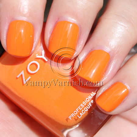 Zoya Jancyn1 A Look Back: Vampy Varnish Favs Featuring: Orange