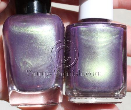 Even in the bottles they look pretty much totally identical Zoya Adina Dupe