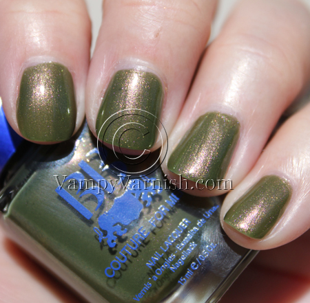 BB Couture Universal Joint Green Nail Polish for St. Patricks Day!!!