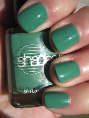 Barielle Sweet Addiction1 Green Nail Polish for St. Patricks Day!!!