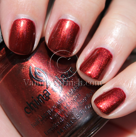 China Glaze Foxy A Plethora of Red & Pink Nail Polish for Valentines Day