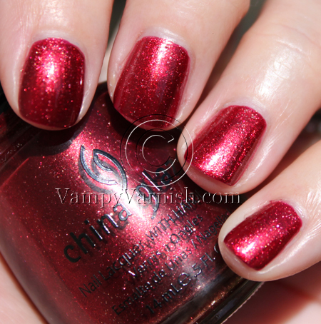 China Glaze Riviter Rouge A Plethora of Red & Pink Nail Polish for Valentines Day