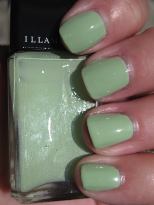 Illamasqua Milf Mint Green Nail Polish Comparisions