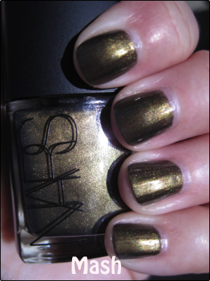 NARS MASH copy Green Nail Polish for St. Patricks Day!!!