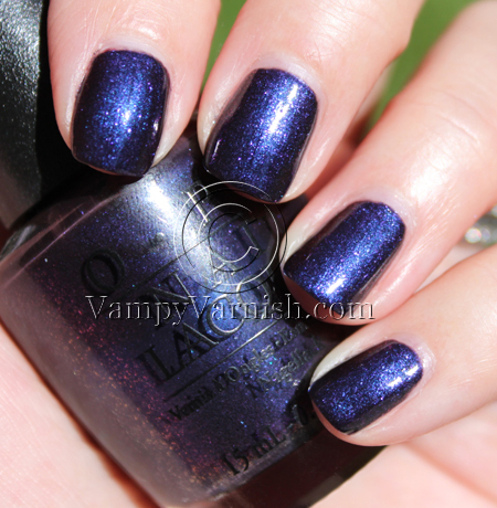 OPI Ink A Look Back: Vampy Varnish Favs Featuring: Blurple