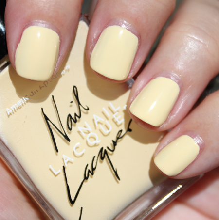American Apparel Nail Lacquer Summer 2010 Swatches Review