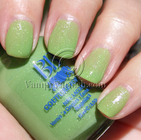 BB Couture Grasshopper Green Nail Polish for St. Patricks Day!!!