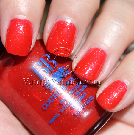 BB Couture Sex On The Beach A Plethora of Red & Pink Nail Polish for Valentines Day