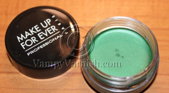 Make Up For Ever emerald Green2
