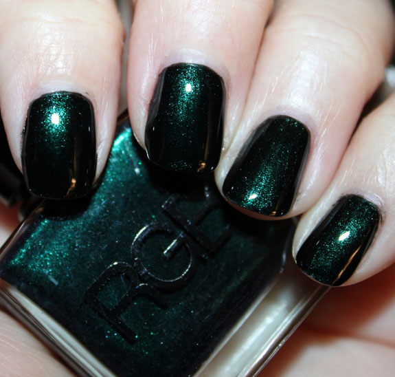 RGB Sea Green Nail Polish for St. Patricks Day!!!