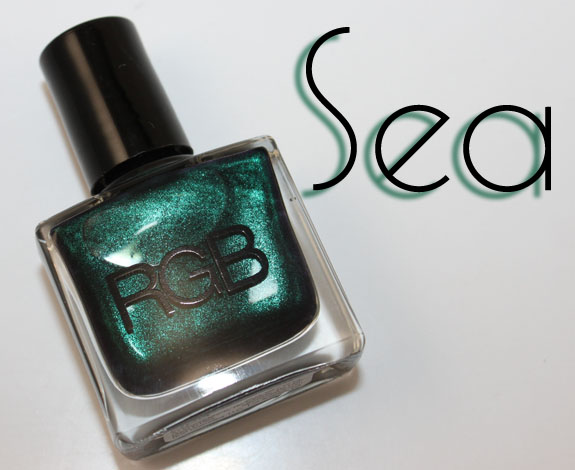 RGB Sea2 RGB Sea Nail Polish Swatches & Review