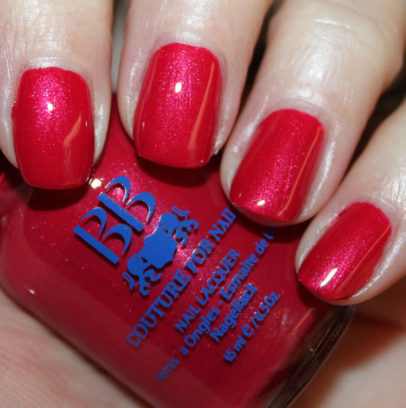 BB Couture Saloon Girl A Plethora of Red & Pink Nail Polish for Valentines Day