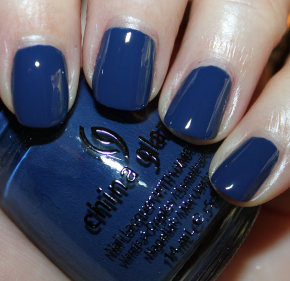 China Glaze First Mate China Glaze Anchors Away Spring 2011 Swatches & Review   Part II