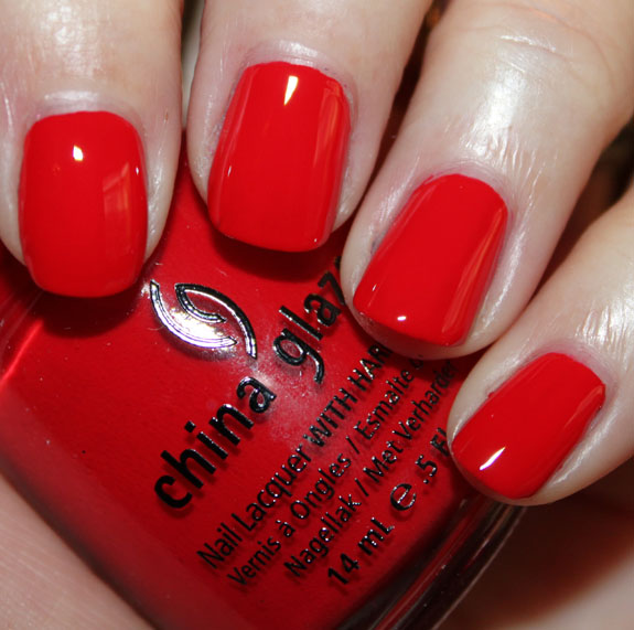 China Glaze Hey Sailor A Plethora of Red & Pink Nail Polish for Valentines Day