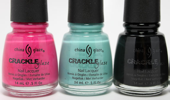 China Glaze Crackle 11 China Glaze Crackle Collection for Spring 2011 Swatches & Review