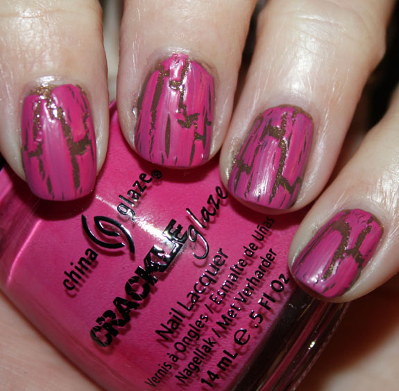 China Glaze Crackle Broken Hearted