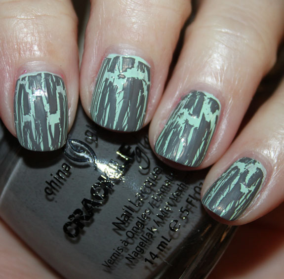 China Glaze Crackle Cracked Concrete