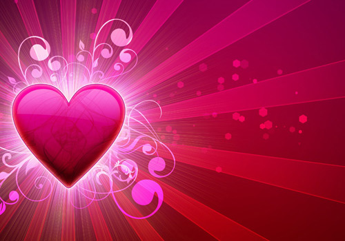 High Resolution Heart Graphics A Plethora of Red & Pink Nail Polish for Valentines Day
