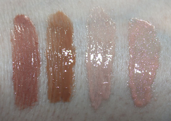 MAC Viva Glam Gaga2 Lipglass swatches