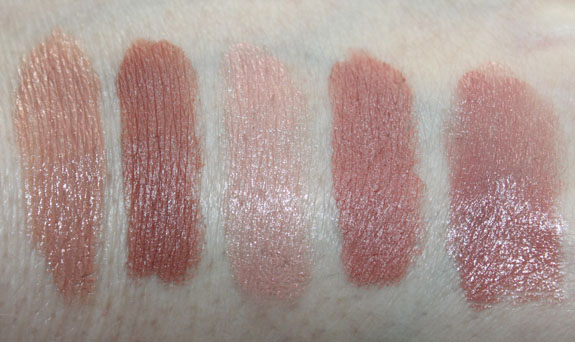 MAC Viva Glam Gaga2 Lipstick swatches