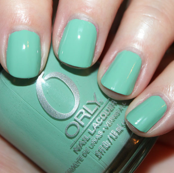 Orly Ancient Jade Green Nail Polish for St. Patricks Day!!!