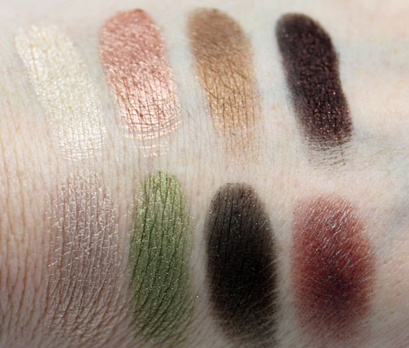 Wet n Wild Comfort Zone Palette Swatch1