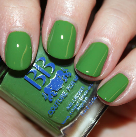 BB Couture 5 Green Nail Polish for St. Patricks Day!!!