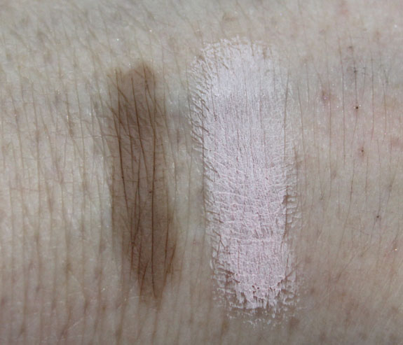 Benefit Instant Brow Pencil and High Brow Swatches