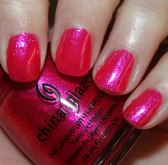 China Glaze 108 Degrees China Glaze Island Escape for Summer 2011 Swatches, Photos & Review