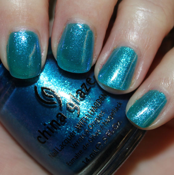 China Glaze Blue Iguana China Glaze Island Escape for Summer 2011 Swatches, Photos & Review