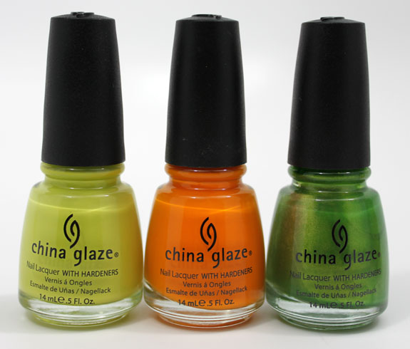 China Glaze Island Escape 3 China Glaze Island Escape for Summer 2011 Swatches, Photos & Review