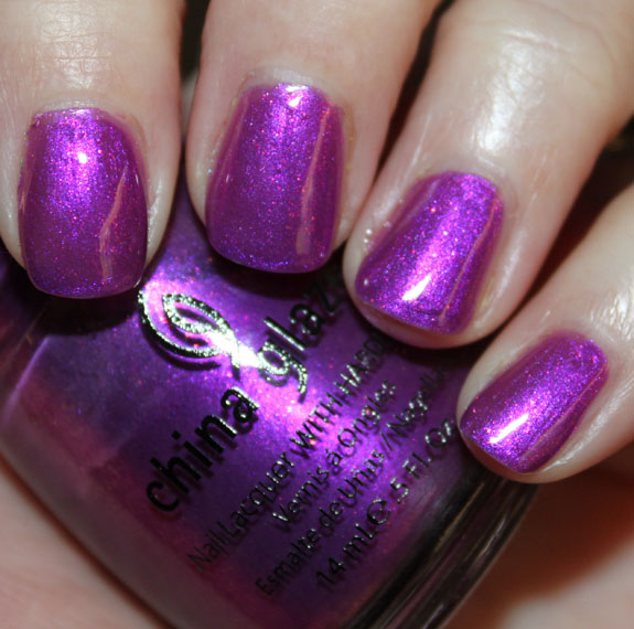 China Glaze Senorita Bonita China Glaze Island Escape for Summer 2011 Swatches, Photos & Review