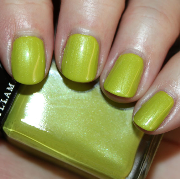Illamasqua Toxic Nature Radium Green Nail Polish for St. Patricks Day!!!