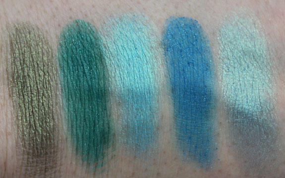Inglot Eyeshadow Swatches 2