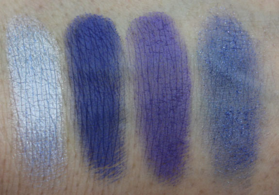 Inglot Eyeshadow Swatches 3