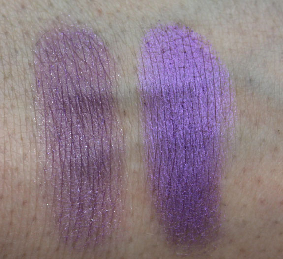 Inglot Eyeshadow Swatches 4