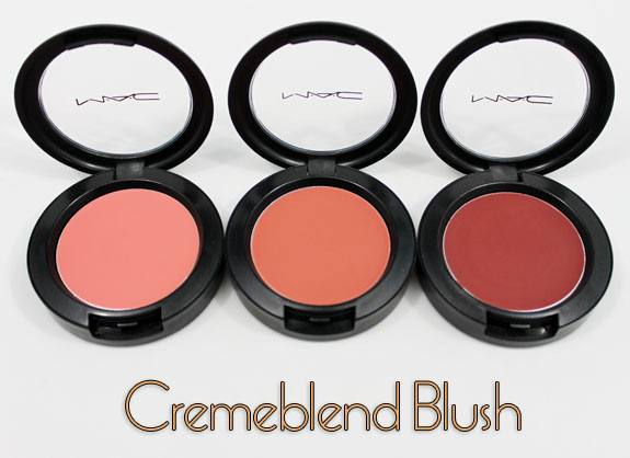 MAC Cremeblend Blush MAC Cremeblend Blushes for Spring 2011 Swatches, Photos & Review