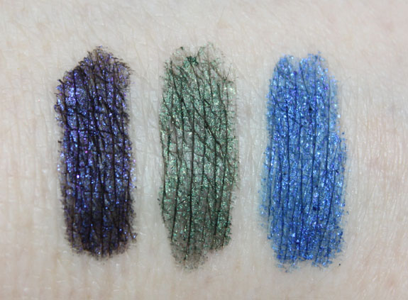 Milani Liquif Eye Automatic Liner Swatches