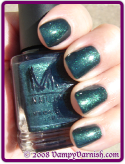 Misa Toxic Seduction Green Nail Polish for St. Patricks Day!!!