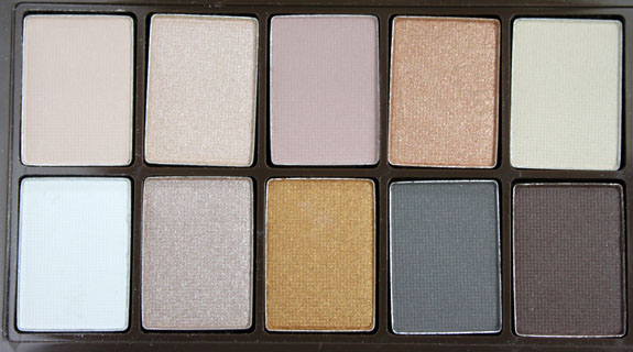NYX Nude on Nude Palette 4 NYX Nude on Nude Palette for Spring 2011 Swatches, Photos & Review