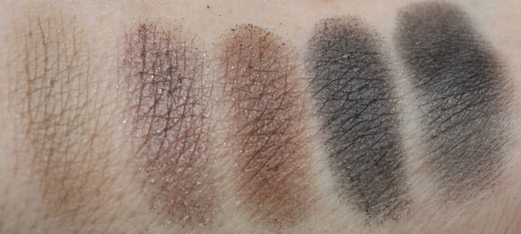 NYX Nude on Nude Palette Swatches3