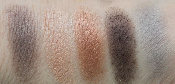 NYX Nude on Nude Palette Swatches6