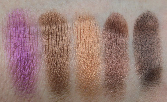 Physicians Formula Shimmer Strips Brown Eyeshadow Swatches 2