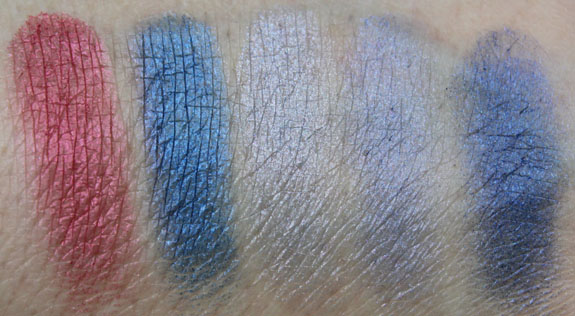 Physicians Formula Shimmer Strips Eye Candy Blue Swatch2