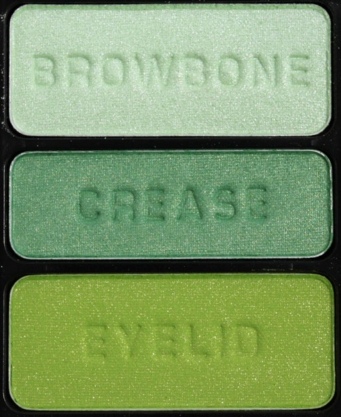 Wet n Wild Color Icon Eyeshadow Trio I Dream Of Greenie 2