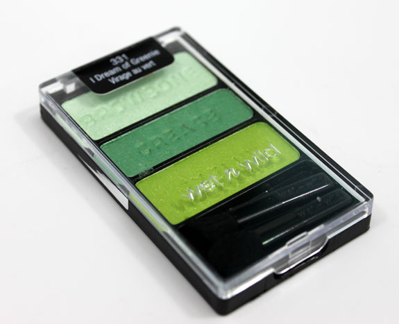 Wet n Wild Color Icon Eyeshadow Trio I Dream Of Greenie